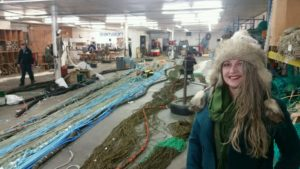 Avenue Concept 3D Resident Jen Long at Superior Trawl in Galilee, RI
