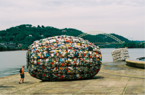 """Freight and Barrel"" by Steven Siegel, Pittsburgh, 2004"
