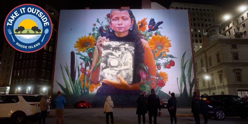"""Still Here"" mural by Gaia"